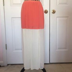 Lulumari Maxi Skirt with Double Slits